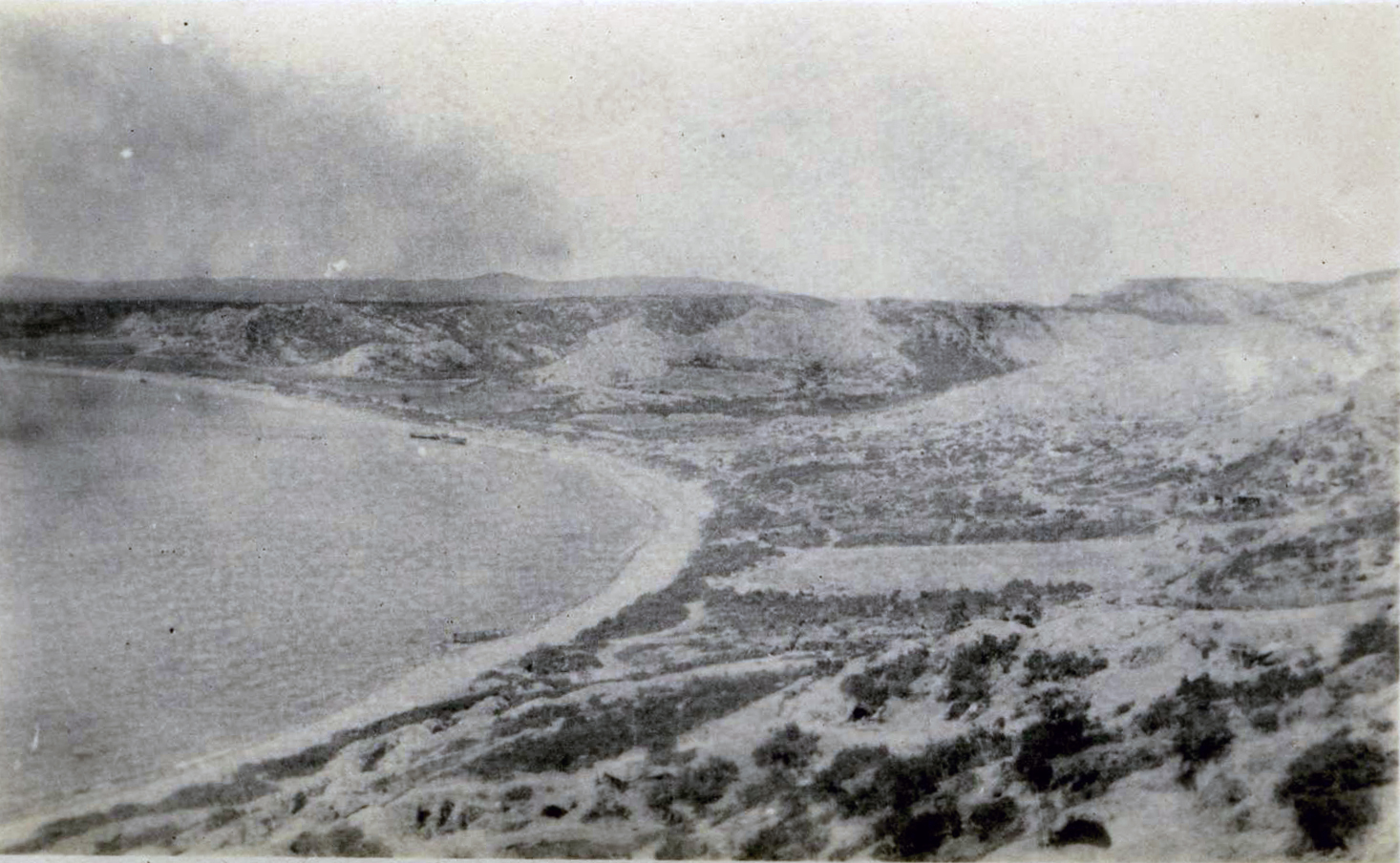 ANZAC Cove, from Gallipoli Diary website